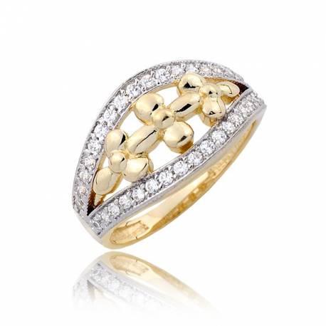 Złoty pierścionek P1788