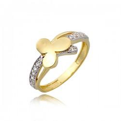 Standardowy damski pierścionek P1772