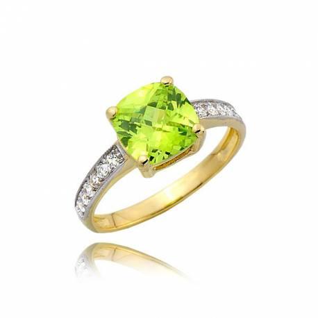 Damski złoty pierścionek P1769