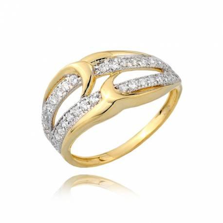 Urzekający pierścionek damski P1759