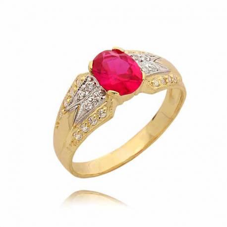 Złoty pierścionek PB47