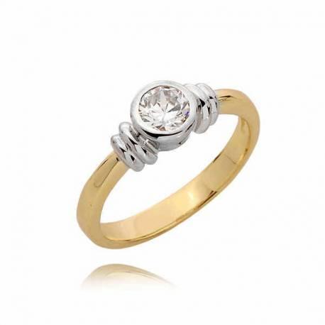 Złoty pierścionek PB53