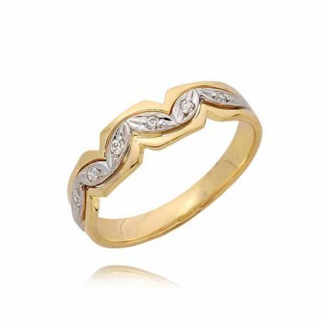 Złoty pierścionek PB61