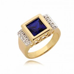 Złoty pierścionek PB64