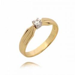 Złoty pierścionek PB79