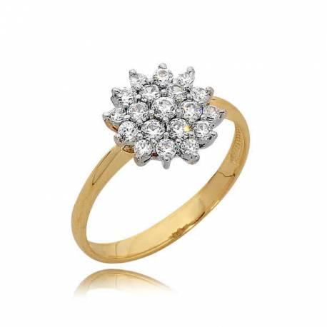 Złoty pierścionek PB85