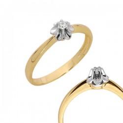 Złoty pierścionek PB87