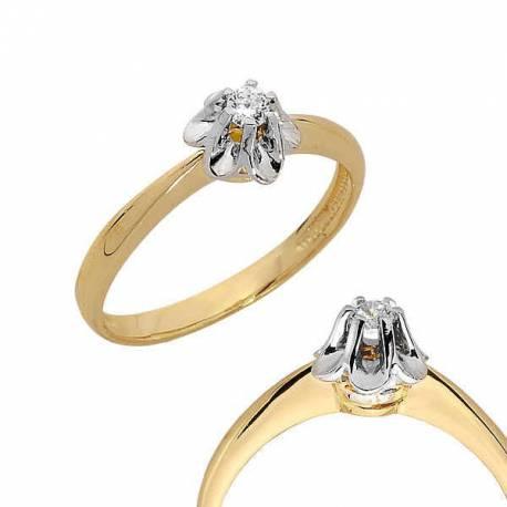Złoty pierścionek PB88