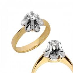 Złoty pierścionek PB91