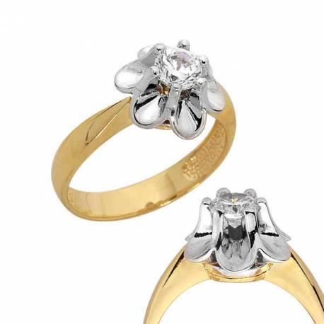 Złoty pierścionek PB92