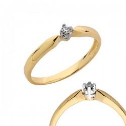 Złoty pierścionek PB96