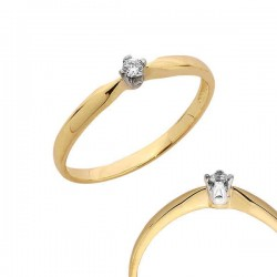 Złoty pierścionek PB97