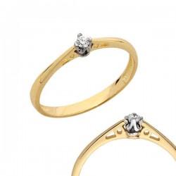 Złoty pierścionek PB99