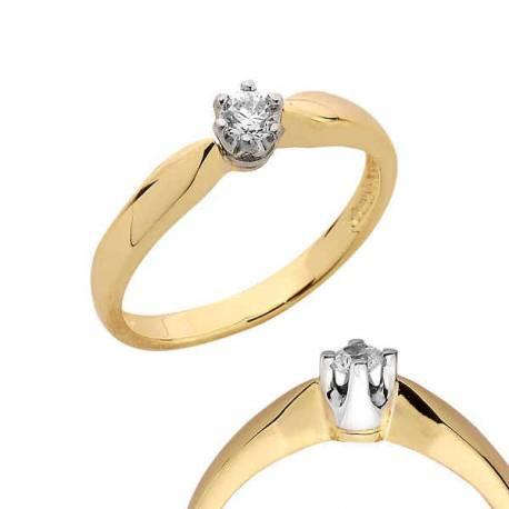 Złoty pierścionek PB114