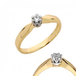 Złoty pierścionek PB115
