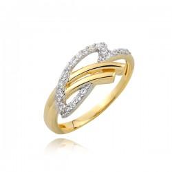 Złoty pierścionek P1731