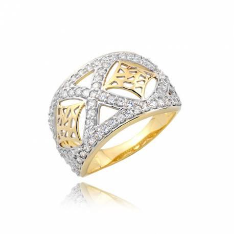 Złoty pierścionek P1724