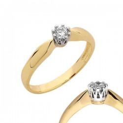 Złoty pierścionek PB117