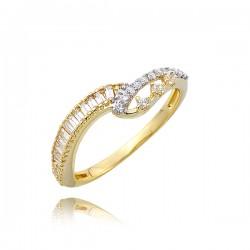 Złoty pierścionek P1710