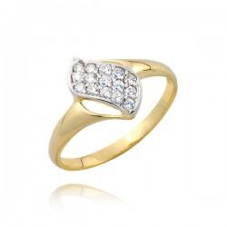 Złoty pierścionek P1692