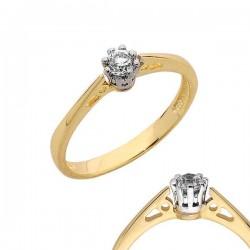 Złoty pierścionek PB121