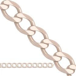 Łańcuszek z białego złota -Lp011c