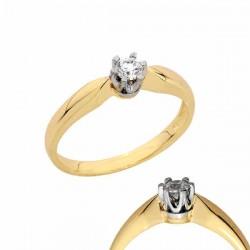 Złoty pierścionek PB124