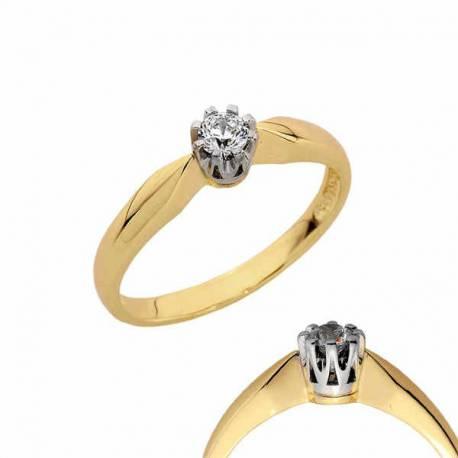 Złoty pierścionek PB127