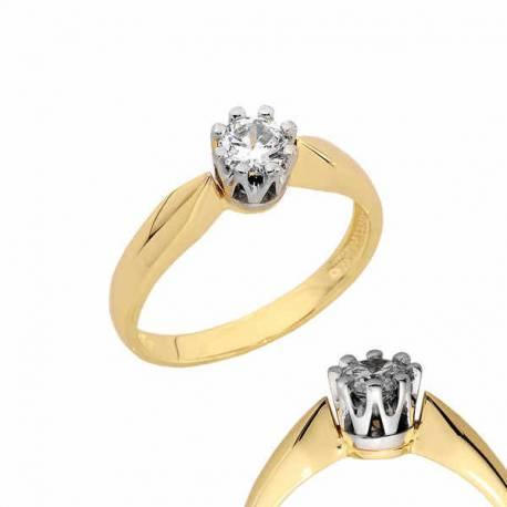 Złoty pierścionek PB137