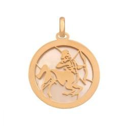 Złoty znak zodiaku,zodiak model-35013