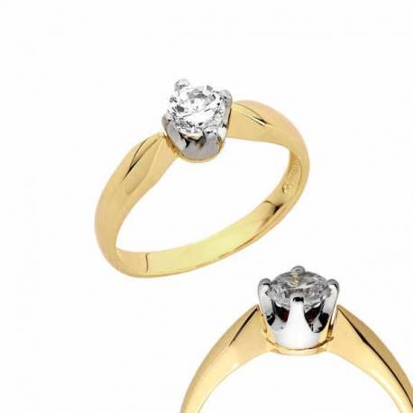 Złoty pierścionek PB143