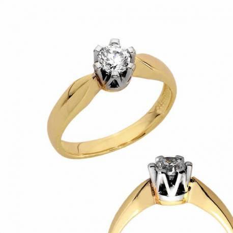 Złoty pierścionek PB145