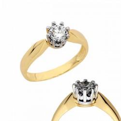 Złoty pierścionek PB146