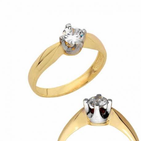 Złoty pierścionek PB153