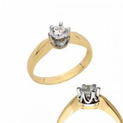 Złoty pierścionek PB154