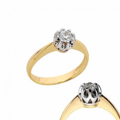 Złoty pierścionek PB168