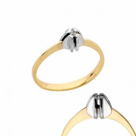 Złoty pierścionek PB170