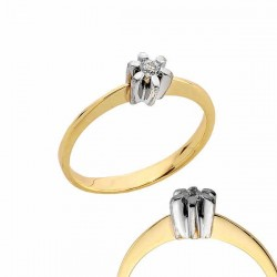 Złoty pierścionek PB171