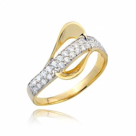Złoty pierścionek P1684
