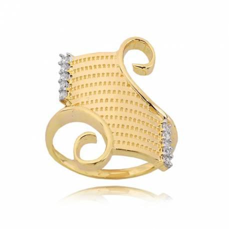 Złoty pierścionek P1663