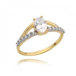Złoty pierścionek P1656
