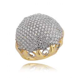 Złoty pierścionek P1653