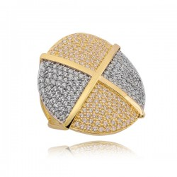 Złoty pierścionek P1652