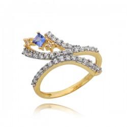 Złoty pierścionek P1640