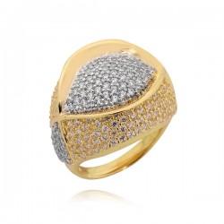 Złoty pierścionek P1638