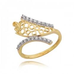 Złoty pierścionek P1642