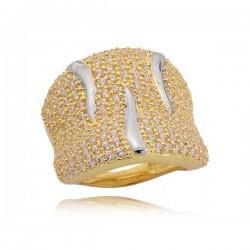 Złoty pierścionek P1643