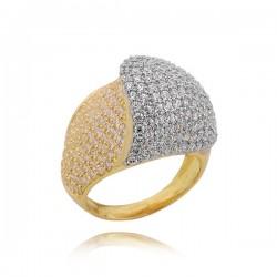 Złoty pierścionek P1646