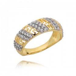 Złoty pierścionek P1648