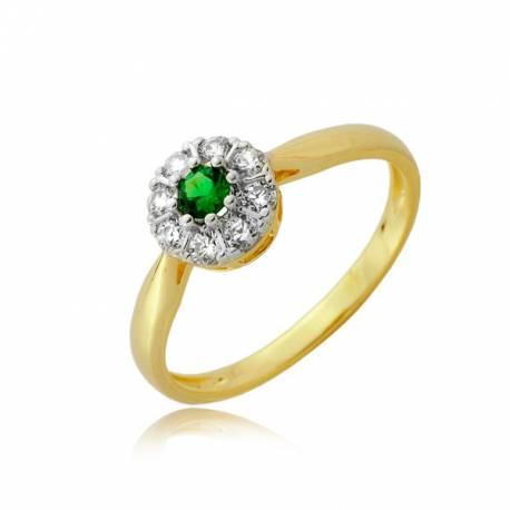 Złoty pierścionek P1919